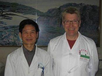 Dr Wu og Jan Nørmark.