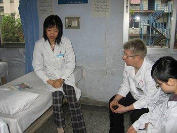 Undervisning af dr Xiong.